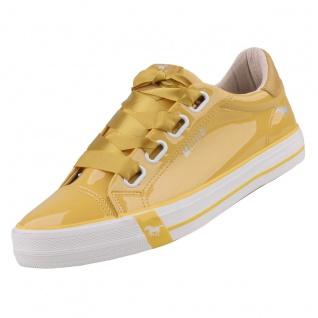 Mustang Damen Sneaker Gelb