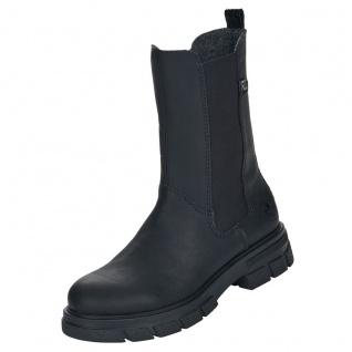 Rieker Damen Chelsea Boots Schwarz