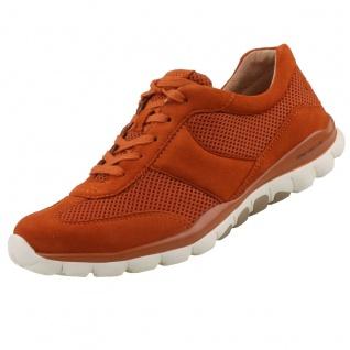 GABOR Rollingsoft Damen Sneaker Orange