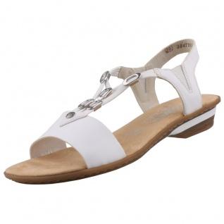 Rieker Damen Sandalen Weiß