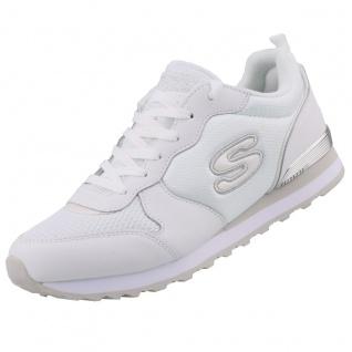 Skechers Damen Sneakers OG 85 Goldn Gurl Weiß