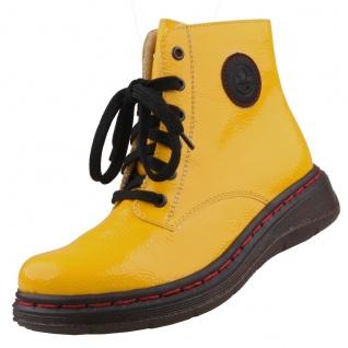 Rieker Damen Stiefeletten Gelb