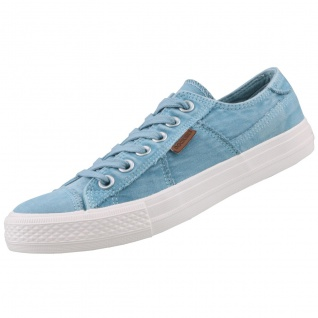 Dockers by Gerli Damen Canvas Sneaker Blau