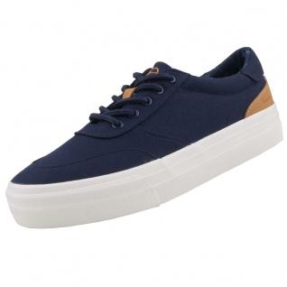 TAMARIS Damen Plateau Sneakers Blau