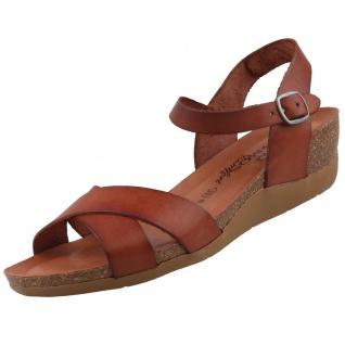 COSMOS Comfort Damen Keil-Sandaletten Braun