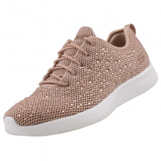 Skechers BOBS Damen Sneaker Squad 2 GALAXY CHASER Roségold
