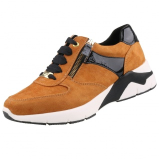 TOM TAILOR Damen Sneaker Orange/Braun