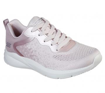 Skechers BOBS Damen Sneaker ARIANA METRO RACKET Rosa