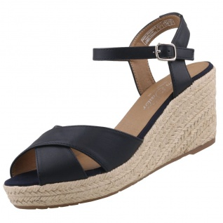 TOM TAILOR Damen Keil-Sandaletten Blau