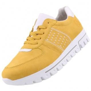 Rieker Damen Sneaker Gelb
