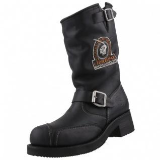 Sendra Motorradstiefel Boots 3565 schwarz