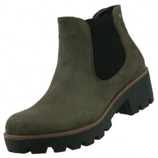 Rieker Damen Chelsea Boots Grün