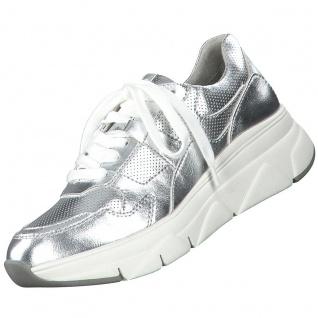 TAMARIS Damen Sneaker Silber