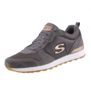 Skechers Damen Sneakers OG 85 Goldn Gurl Grau