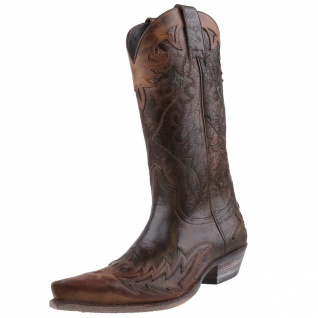 Sendra Cowboystiefel 9669 Braun
