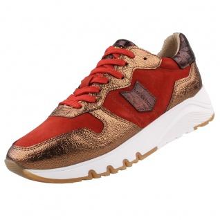 TAMARIS Damen Sneaker Rot/Bronze
