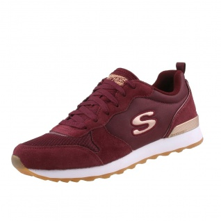 Skechers Damen Sneakers OG 85 Goldn Gurl Rot/Bordeaux