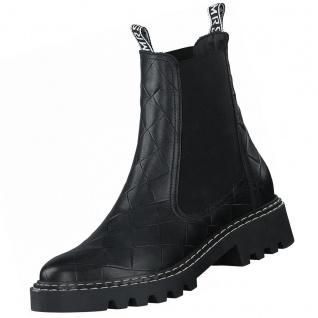 TAMARIS Damen Chelsea Boots Schwarz