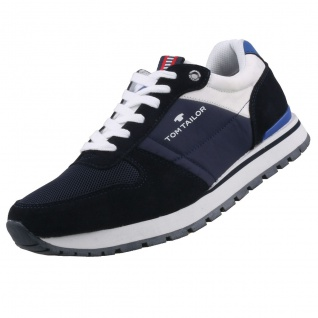 TOM TAILOR Herren Sneaker Blau
