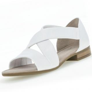 GABOR Comfort Damen Sandalen Weiß