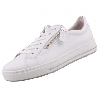 GABOR Comfort Damen Sneaker Weiß