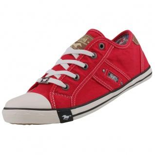 Mustang Herren Sneaker Rot