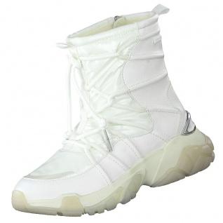 TAMARIS Damen DUO TEX Stiefel gefüttert Weiß