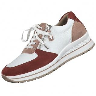 TAMARIS Damen Sneaker Weiß/Rot