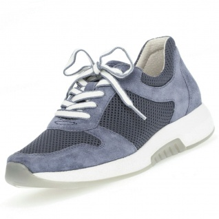GABOR Rollingsoft Damen Sneaker Blau