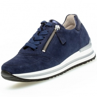 GABOR Comfort Damen Sneaker Blau