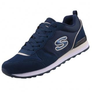 Skechers Damen Sneakers OG 85 STEP N FLY Blau