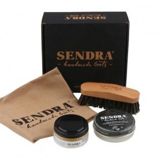 Sendra Schuh Reinigungs- und Pflegeset Pack Limpieza 2