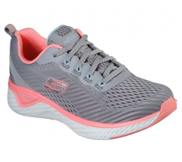 Skechers Sportschuhe SOLAR FUSE COSMIC VIEW Grau/Pink