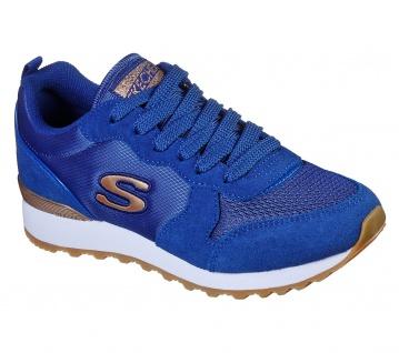 Skechers Damen Sneakers OG 85 Goldn Gurl Blau