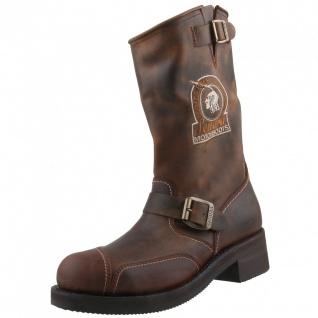 Sendra Motorradstiefel Boots 3565 braun