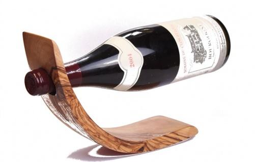 Flaschenhalter Weinhalter Weinregal Olivenholz Flaschenständer Regal Holz Wein