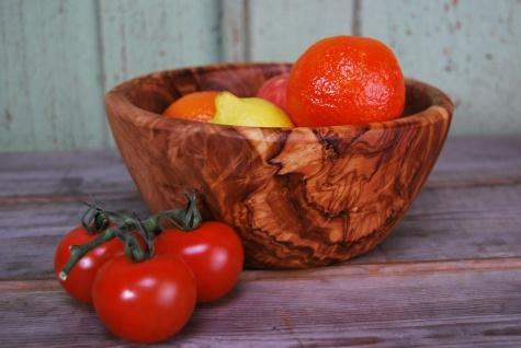 Schüssel Salatschüssel Obstschale Salatschale Holz Schale Holzschale Olivenholz