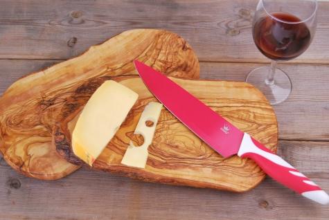 Schneidebrett Olivenholz Holzbrett Frühstücksbrett Brett Holz Vesperbrett 30cm