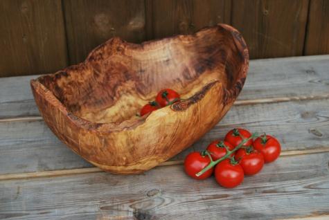 XL Holzschale Obstschale Holz Schale Schüssel Brotschale Obstkorb aus Olivenholz