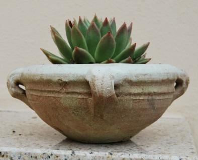 Blumentopf, Kräuterschale Übertopf Blumenkübel Topf Schale Terrakotta Terracotta