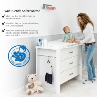 EasyHeat Wickeltisch-Wärmestrahler