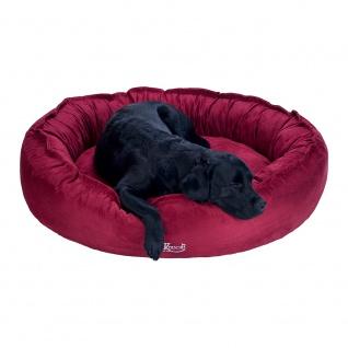 Kensons Hundebett Benson Wildlederimitat (Microfaser) berry - Vorschau 4