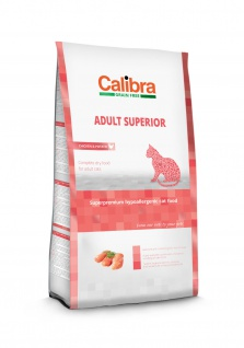 Calibra Cat Grain Free Adult Superior, Chicken & Rice