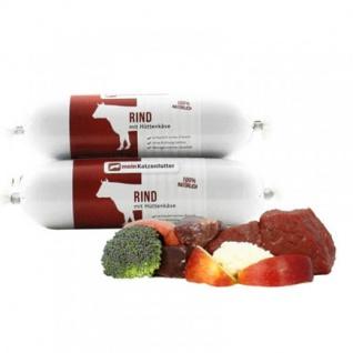 Ritzenberger Rind mit Hüttenkäse und Gemüse