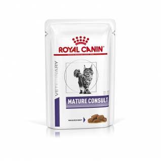 Royal Canin Veterinary Mature Consult Feuchtnahrung für Katzen