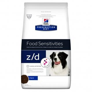 Hill´s Prescription Diet Canine z/d Food Sensitivties bei Allergien