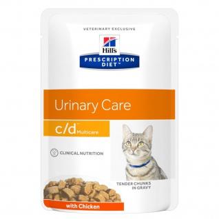 Hill´s Prescription Diet Feline c/d multicare Frischebeutel mit Huhn