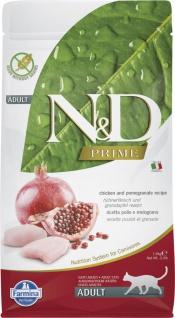 Farmina N&D Katze Getreidefrei Huhn & Granatapfel Trockenfutter