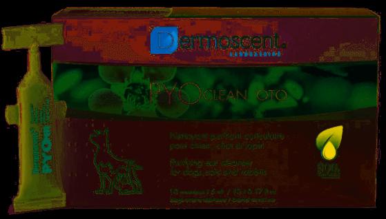 Dermoscent Pyoclean Oto für das Ohr von Hunde und Katzen
