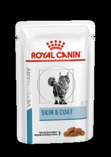 Royal Canin Vet Diet Care Skin & Coat Feuchtnahrung für Katzen